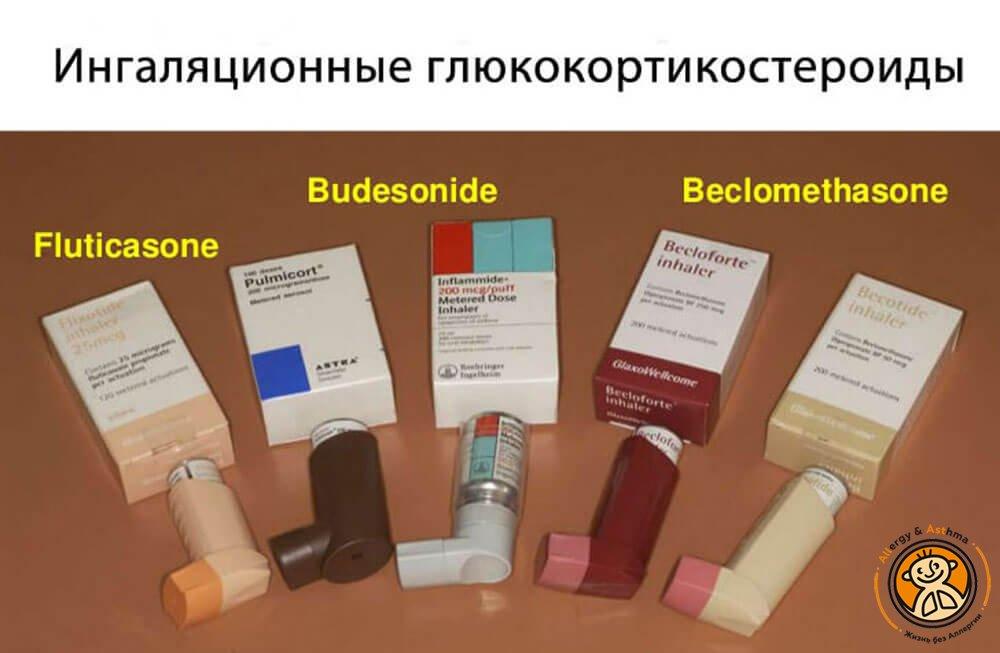 Ингаляционные глюкокортикостероиды для лечения бронхиальной астмы