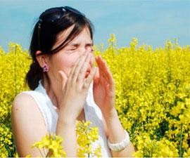 Весенняя аллергия лечение