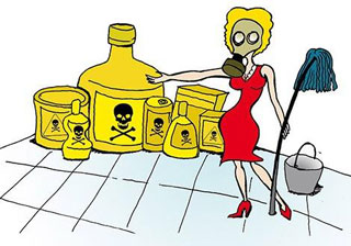Симптомы аллергии на бытовую химию