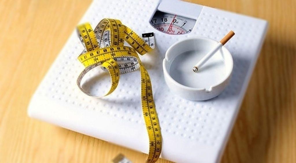 Набор веса после отказа от курения