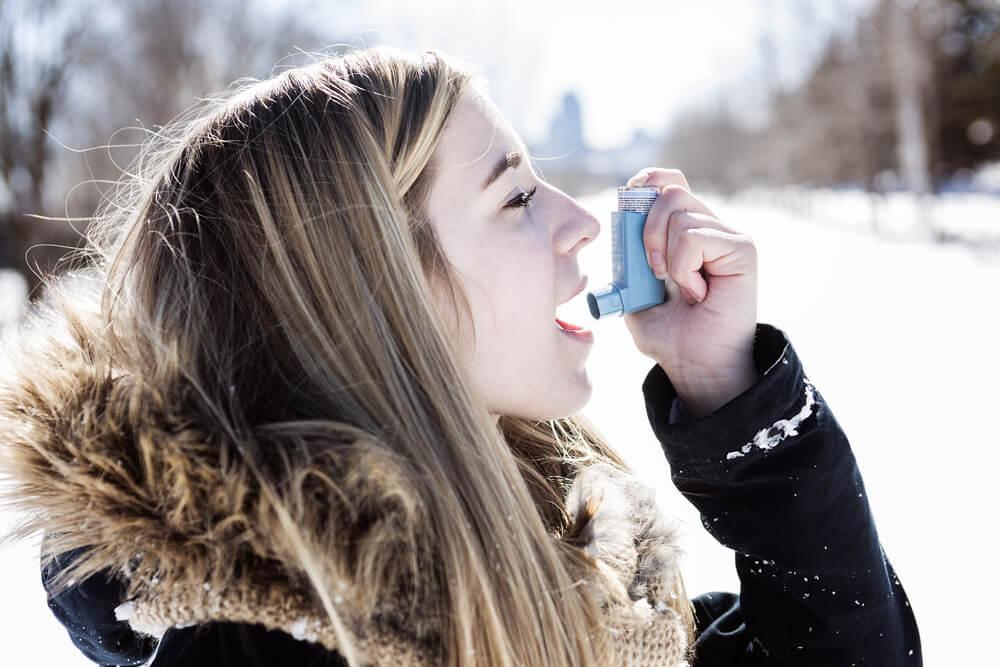 Бронхиальная астма на холод