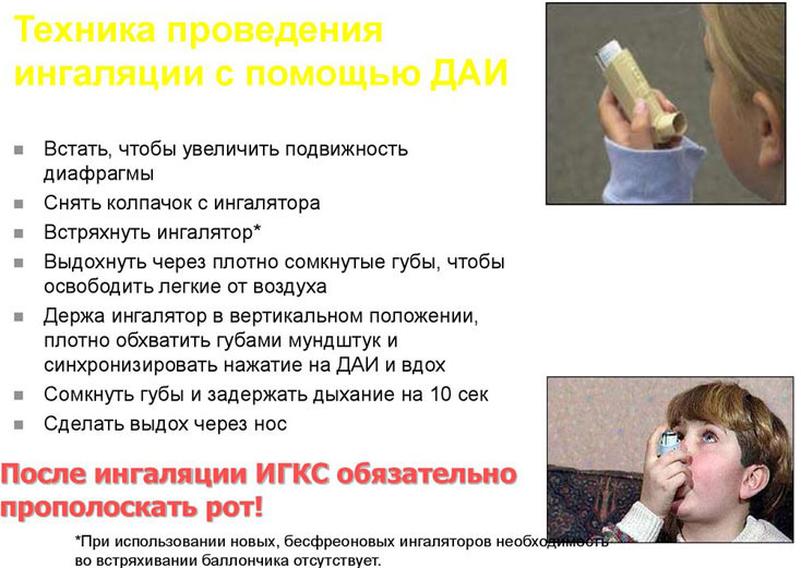 астма у ребенка выбор ингалятора