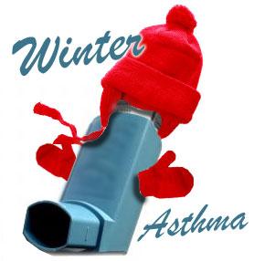 зима и астма