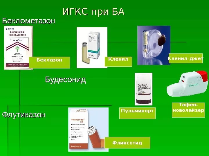 ИГКС при бронхиальной астме