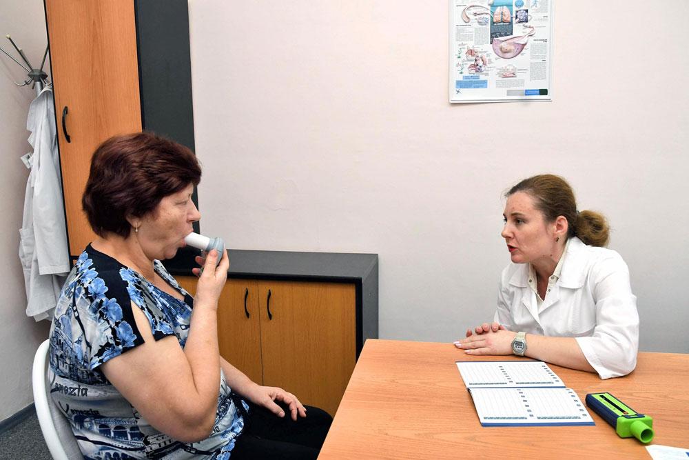 Ведение пациента с бронхиальной астмой