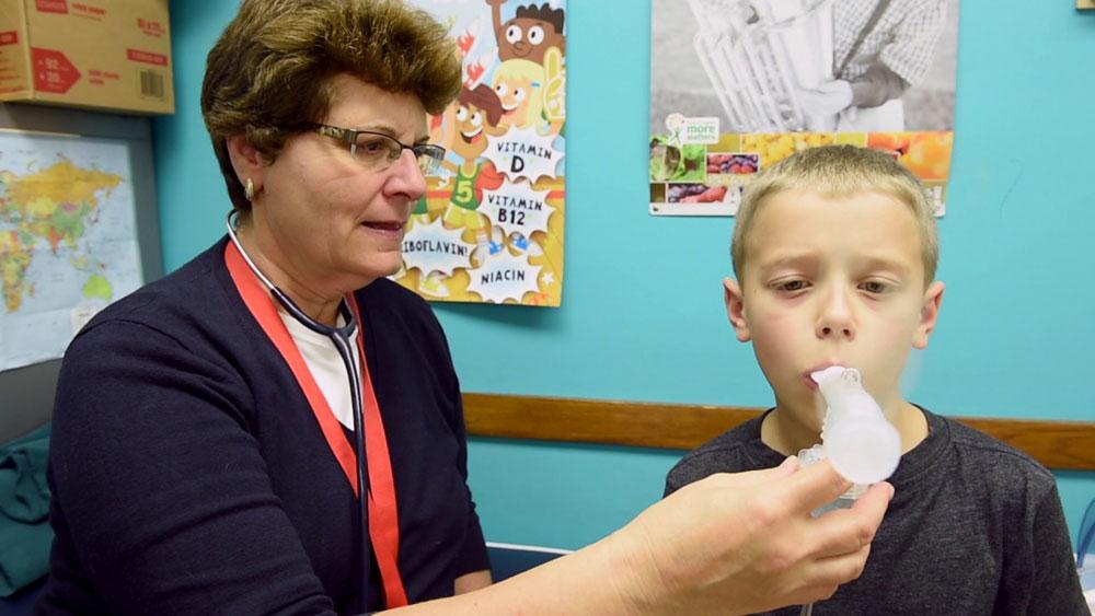 Эффективность занятий в астма-школе